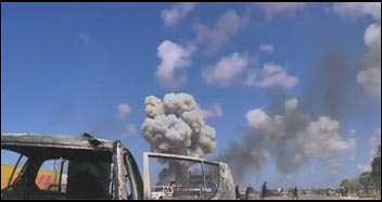 Libya under attack from Western military intervention