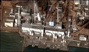 Fukushima I courtesy of Digital Globe