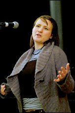 Sarah Sacks-Eldridge, Socialist Pary congress 2007, photo Paul Mattsson