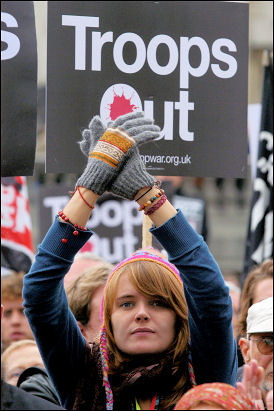 Stop The War Coalition demonstration 8 October 2007, photo Paul Mattsson