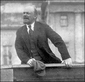 Lenin making a speech