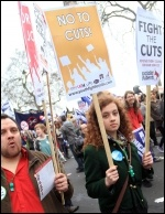 26 March demo, photo Senan