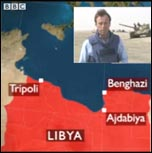 Libya: the revolution will be televised... NATO intervenes, photo BBC