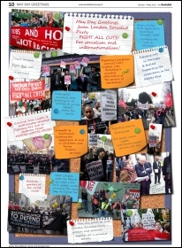 May Day Greetings, The Socialist, May 2011