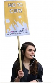 Youth Fight For jobs say No To Cuts, photo by Socialist Party