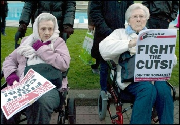Cuts hit disabled people hard, photo Paul Mattsson