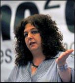 Janice Godrich, President, Public and Commercial Services Union PCS, photo Paul Mattsson