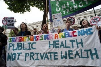 March to save the NHS 17 May 2011, photo Paul Mattsson