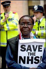 March to save the NHS 17 May 2011 , photo by Paul Mattsson