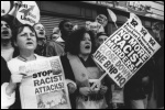 Youth against Racism in Europe protest against the BNP in 1993, photo The Socialist
