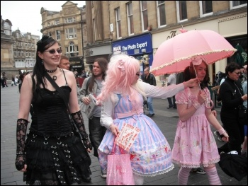 Slutwalk protests: fighting back against sexism and discrimination in Newcastle, photo E Brunskill