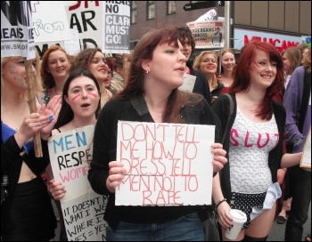 Slutwalk protests, photo E. Brunskill