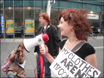 Slutwalk protests: fighting back against sexism and discrimination in Newcastle, photo by E Brunskill