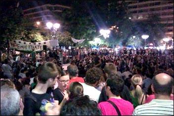 Massive general strike in Greece on 15 June 2011, photo Stephan Kimmerle