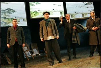 The Pitmen Painters theatre production, photo Keith Pattison