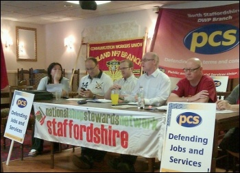 North Staffs NSSN-hosted rally. photo NSSN