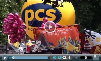 PCS on the 30 June pensions strike