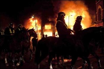 Tottenham riots August 2011, photo Paul Mattsson