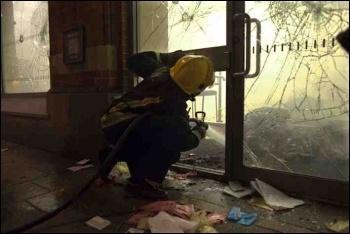 Tottenham riots, photo Paul Mattsson
