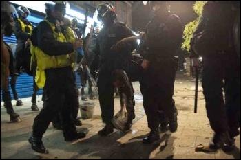 Tottenham riots, August 2011, photo Paul Mattsson