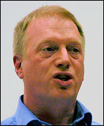 Socialism 2007 - Matt Wrack, FBU general secretary, photo Paul Mattsson