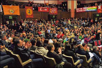 Socialism 2007 - Rally, photo Paul Mattsson