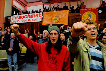 Socialism 2007 - Rally, photo Paul Mattsson