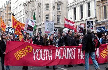 Demonstration against Trident Feb 24 2007, photo Pedro