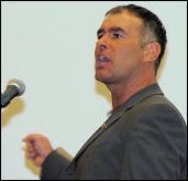 Tommy Sheridan, photo Paul Mattsson