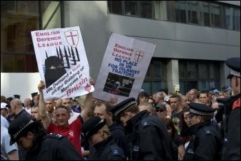 EDL demonstration in London, 3.9.11