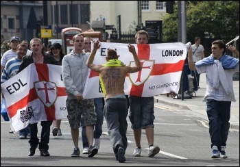 EDL marchers, London 3.9.11