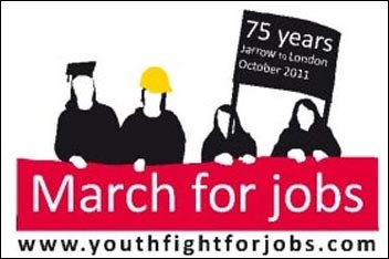 Youth Fight for Jobs :: March for Jobs :: Jarrow to London :: October 2011