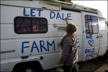 Dale Farm Travellers, photo Paul Mattsson