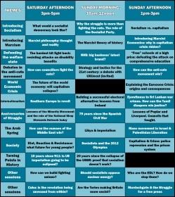 Socialism 2011 Programme
