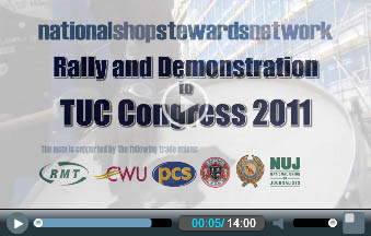 NSSN lobby of TUC 2011: Open the floodgates of mass action