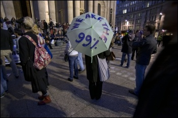 We are the 99%, photo Paul Mattsson