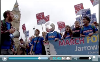 Jarrow Marchers 2011