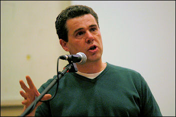 Mark Serwotka at Socialism 2007, photo Paul Mattsson