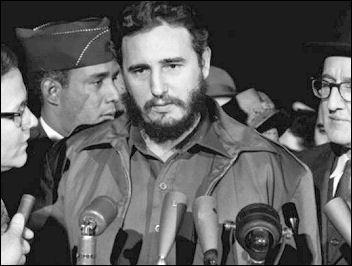 Fidel Castro in Washington 1959