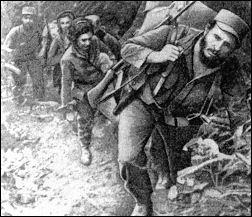 Fidel Castro in his days as a guerrila