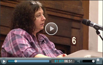 PCS civil service union president Janice Godrich addresses Socialism 2011