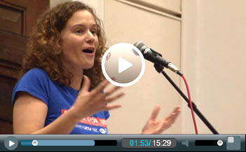 Hannah Sell, deputy general secretary, Socialist Party, speaking at Socialism 2011