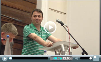 Rob Williams, chair of the National Shop Stewards Network, speaking at Socialism 2011