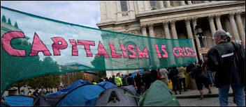Capitalism is crisis, photo Paul Mattsson