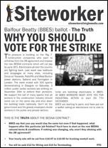 Siteworker leaflet