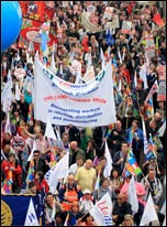 26 March TUC demonstration, photo Senan