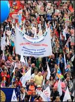 26 March TUC demonstration, photo Senan