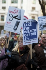 N30 - Millions strike back at Con-Dem government on 30 November 2011, photo Paul Mattsson