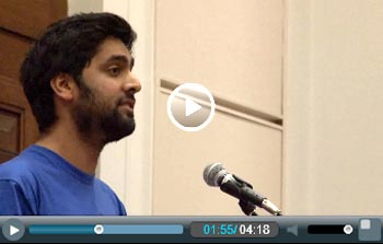 Vik Chechi addresses Socialism 2011