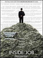 Inside Job: film on the global economic crisis of 2008
